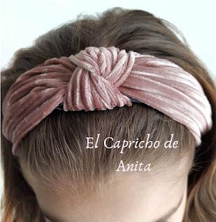 https://www.ebay.es/itm/Diadema-tela-nudo-terciopelo-rosa-tendencia-talla-unica-mujer-nina/333131067497