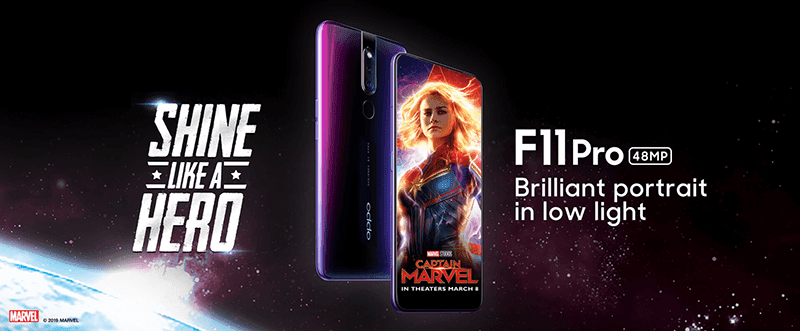 OPPO F11 Pro full screen, pop-up cameras, and 48MP main cam now official!