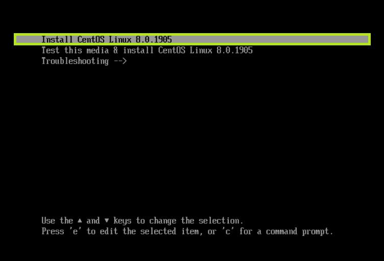 [LINUX] CentOS 8 설치하기