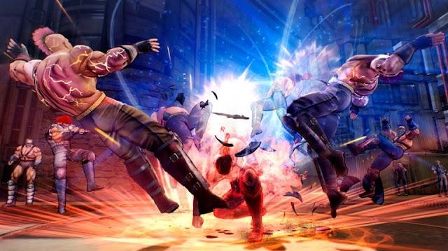 إستعراض بالصور للعبة القادمة Fist of the North Star و نظرة على أسلوب القتال