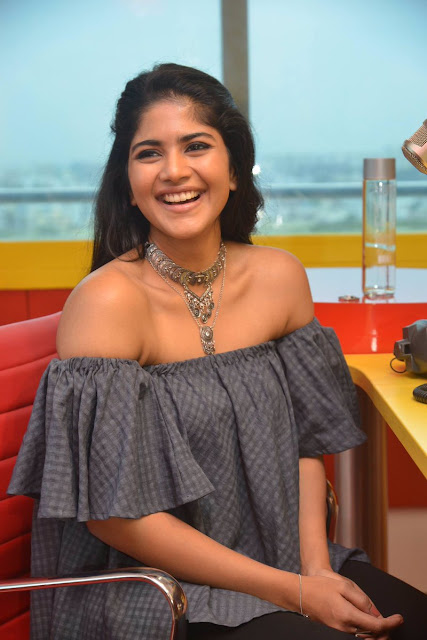Actress Megha Akash Stills at Radio Mirchi