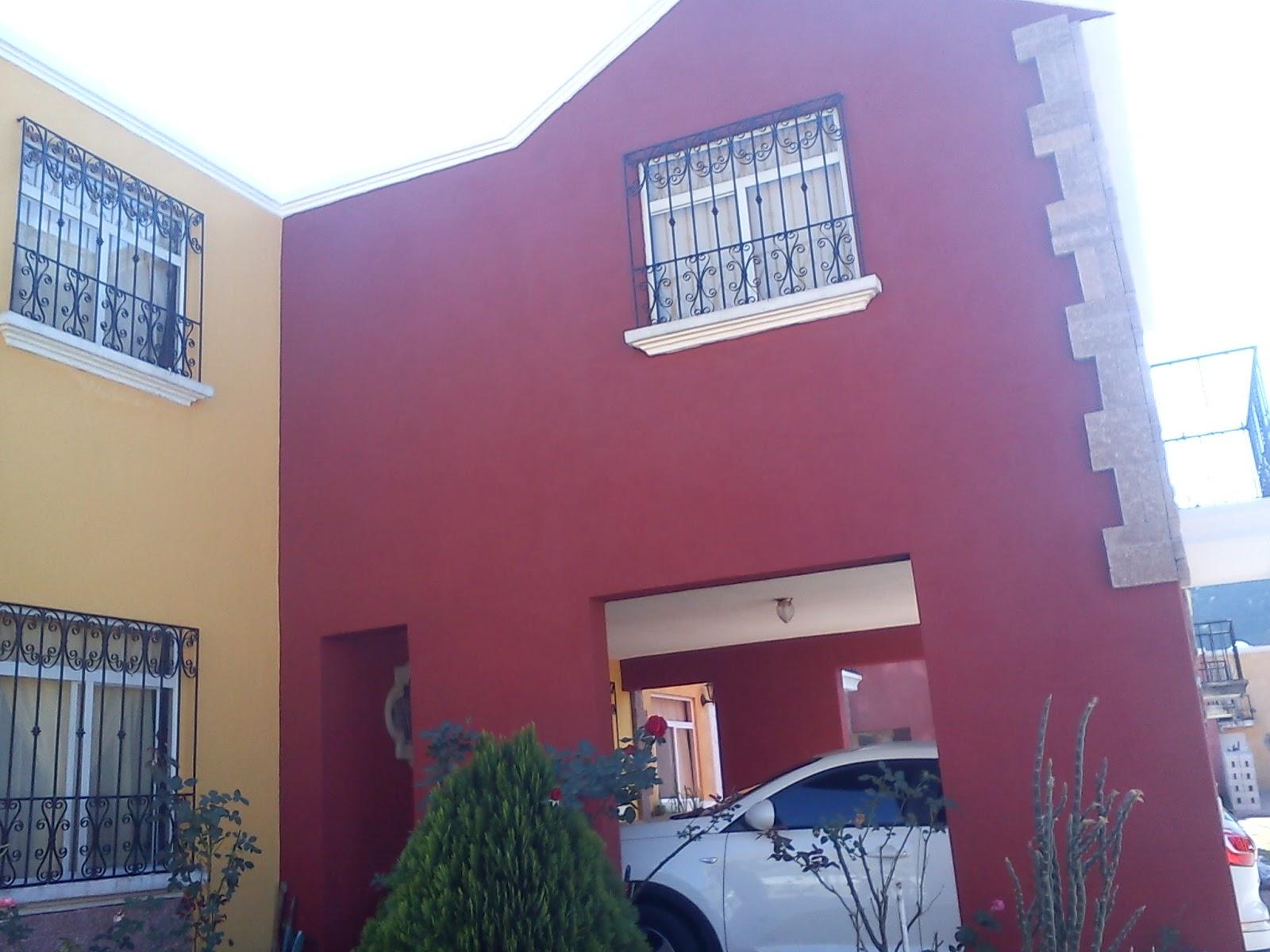 Guatemala pr spera comun cate ca adas pintura exterior for Colores para casas exteriores 2015