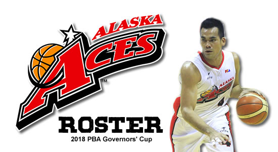 LIST: Alaska Aces Roster 2018 PBA Governors' Cup