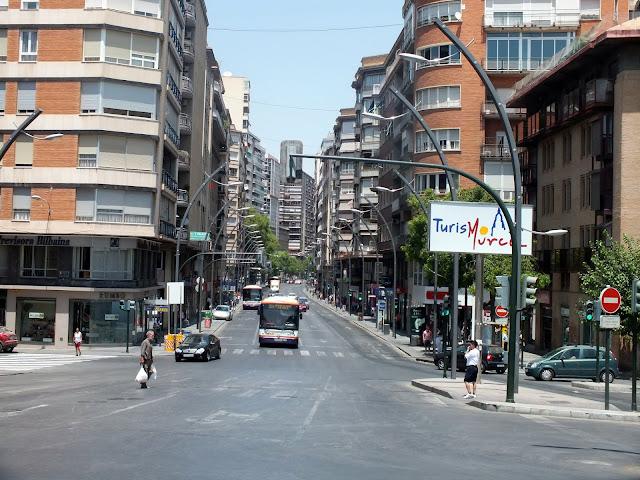 días de verano en Murcia capital