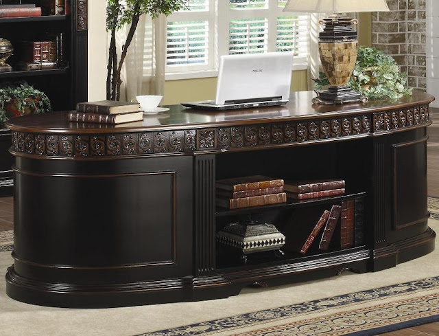 best buy traditional home office furniture sets solid wood for sale