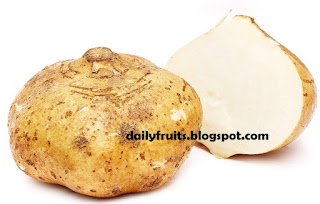 yam bean, dailyfruits.blogspot.com, yam bean benefits