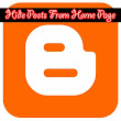 How To Hide Posts From Blogger Home Page | Tweak Your Blog