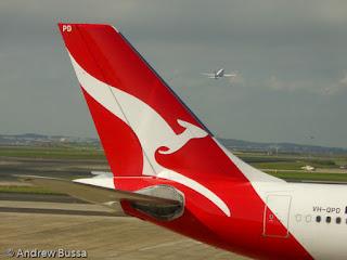 Qantas A330 VHQPD