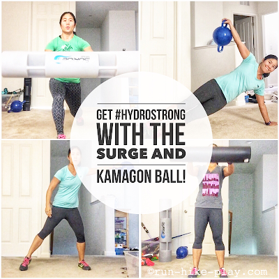 Get #Hydrostrong with the Surge and Kamagon Ball - Review & Workouts!
