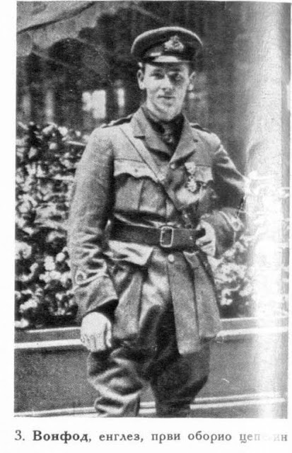 Warnefard, an Englishman who shot down the first Zeppelin