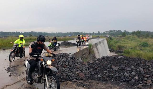 Pemantauan jalan tambang