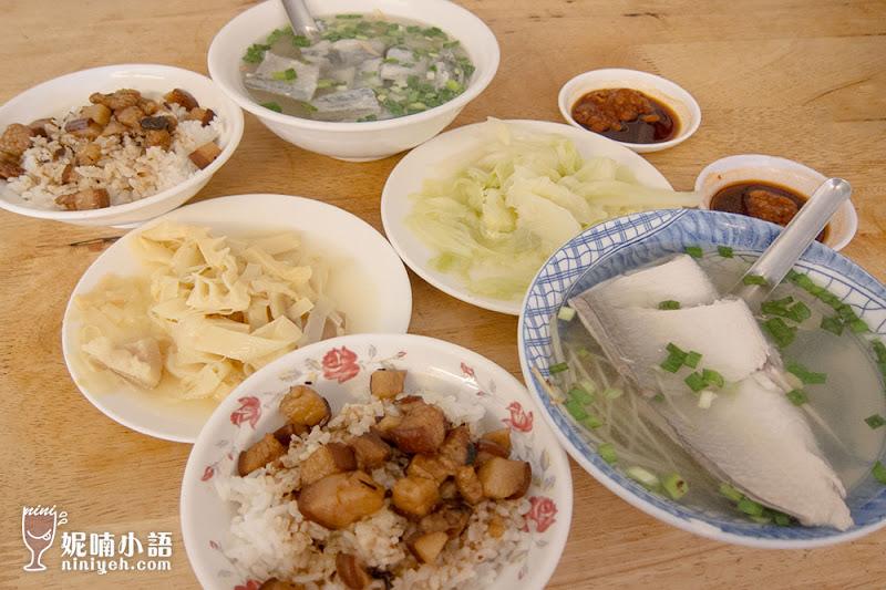 【台南美食】阿和肉燥飯。美食家口中的暖味小吃