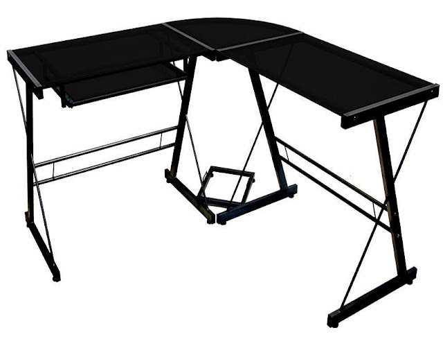 best buy cheap black office desks Perth WA for sale online