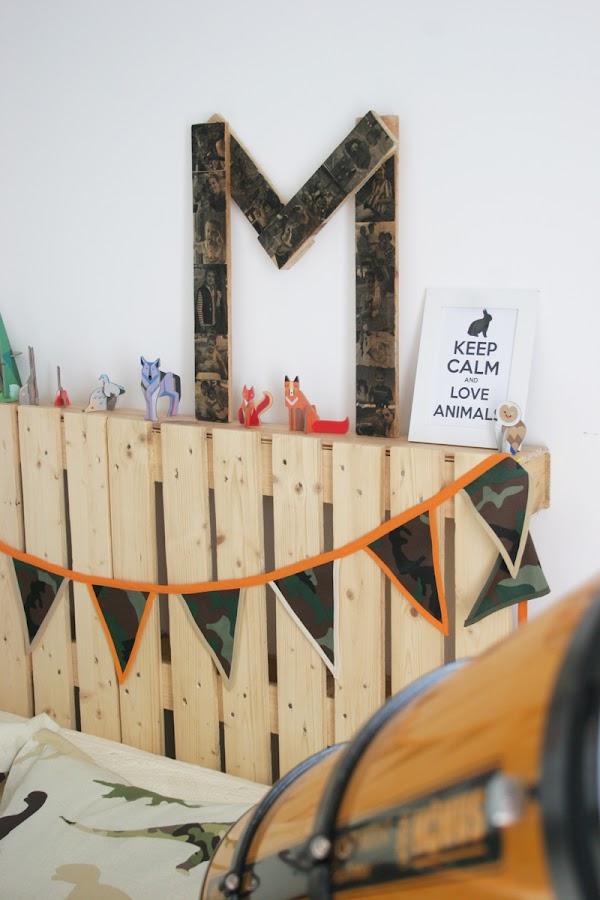 DEF Deco - Decorar en familia: Diy letra de madera con fotos7