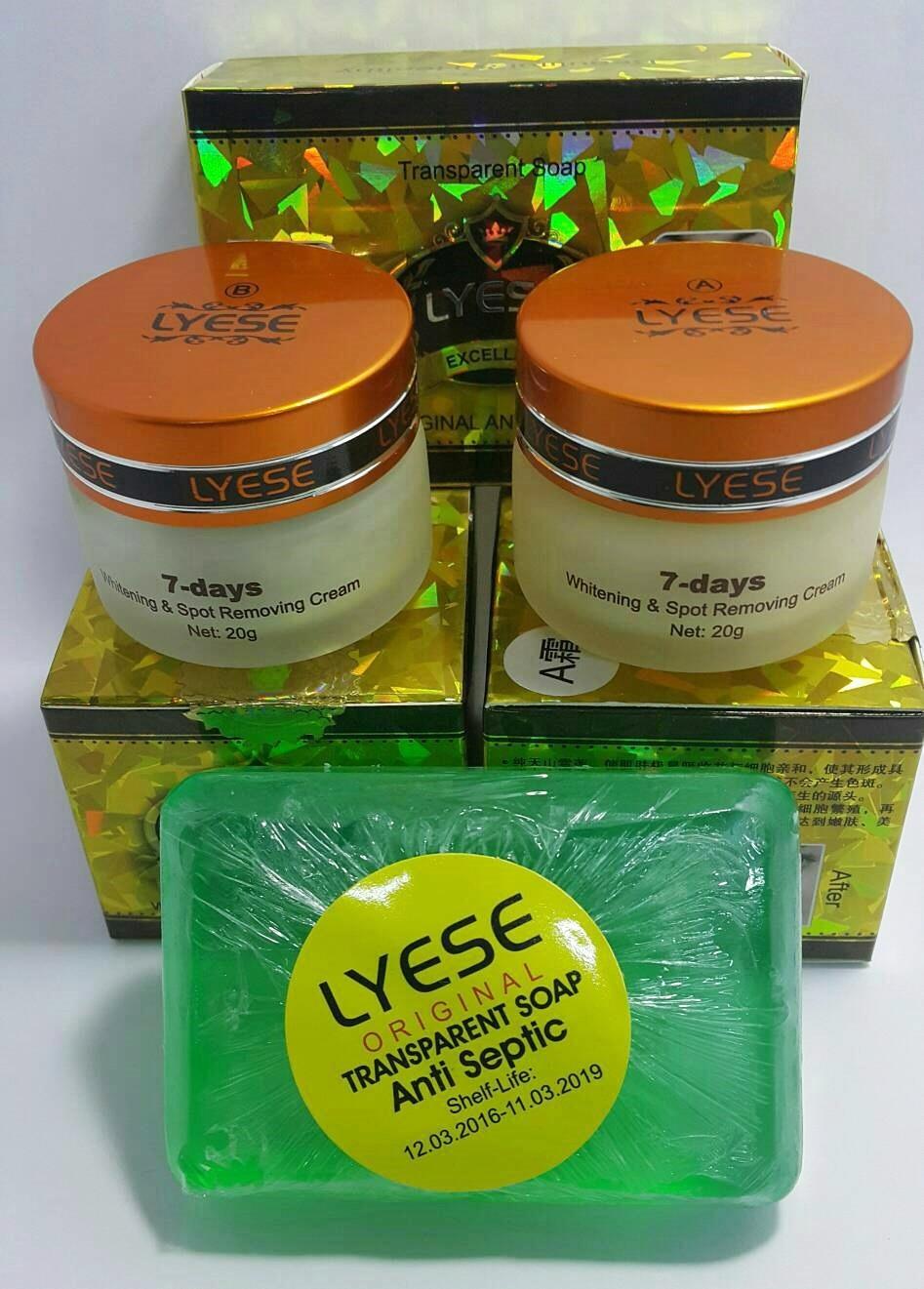 Paket Cream Lyese Jumbo Original