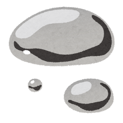 水銀のイラスト