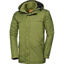 Nordcap Herren Funktionsjacke in Grün, hochwertige Herren-Bekleidung, ultraleichte Herrenjacke, federleichte Outdoor-Jacke, winddicht & atmungsaktiv (Größe: 48 - 60)