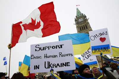 Canada imposed additional sanctions against Russia and the Crimea