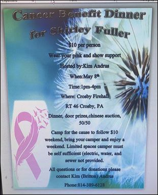 5-8 Cancer Benefit, Crosby