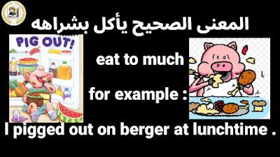 various Idioms|تعبيرات متنوعة فى اللغة الإنجليزية