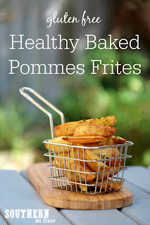 Healthy Baked Pommes Frites Recipe