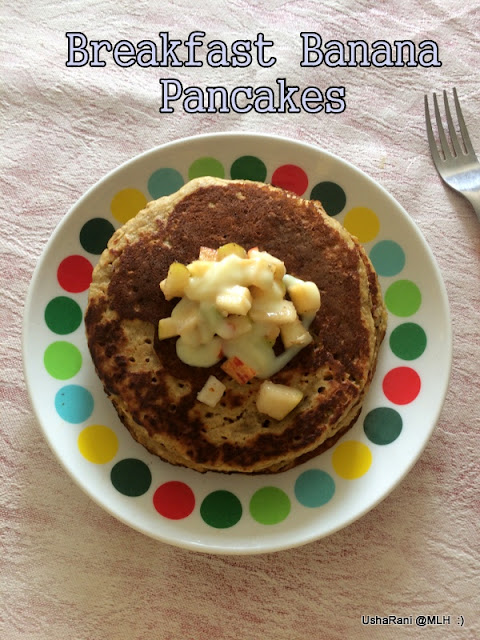 how to make banana pancakes without mix