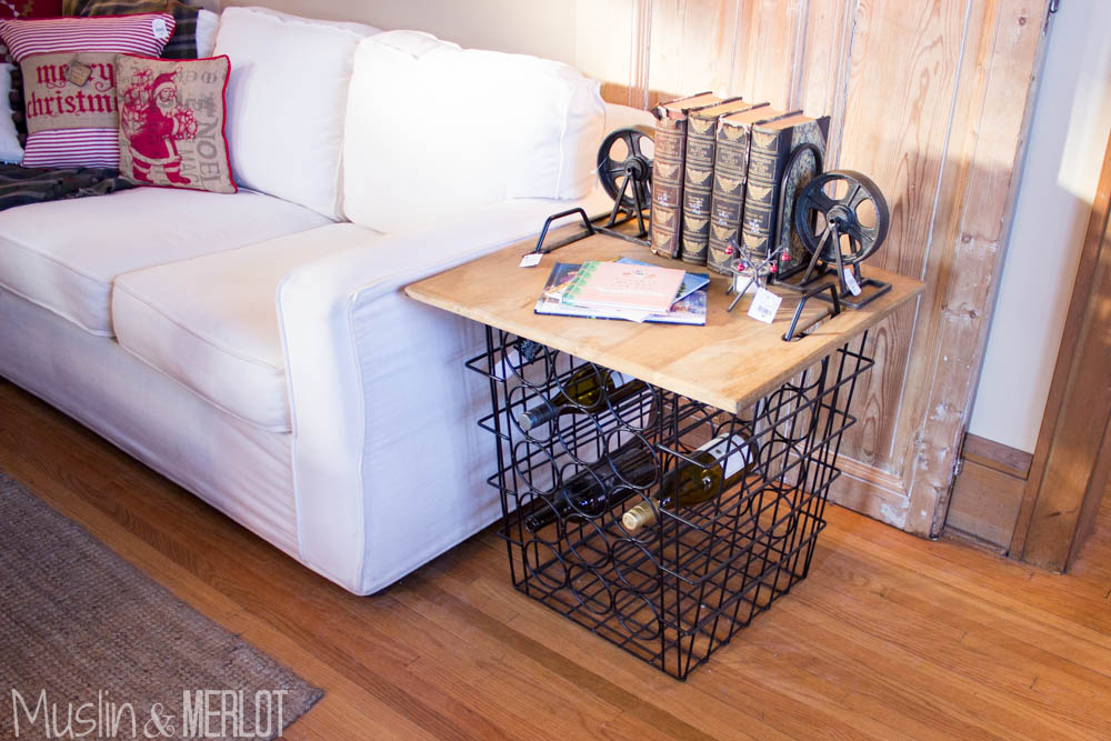 Bachman's Ideas House 2014 Wine Rack End Table