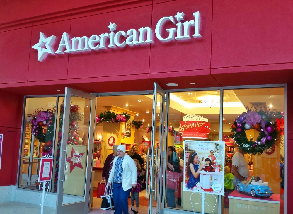 Hines sight blog the american girl experience in for 8 the salon southpark charlotte nc