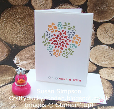 Coffee & Cards project March 2017, Craftyduckydoodah!, Stampin' Up! UK Independent Demonstrator Susan Simpson, Supplies available 24/7, Window Box Thinlets Dies, Window Shopping,