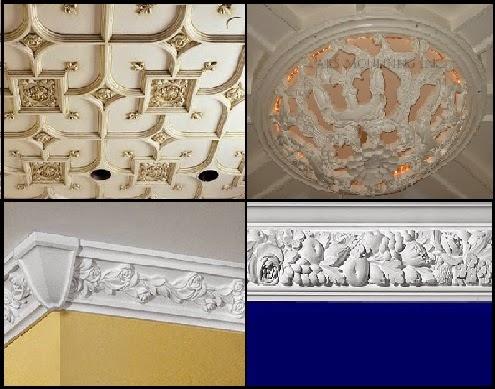 تصميم ديكورات من الجبس للحوائط و الأسقف طريقة تركيب