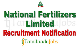 NFL Recruitment notification of 2018, govt jobs for MBA, govt jobs for CA