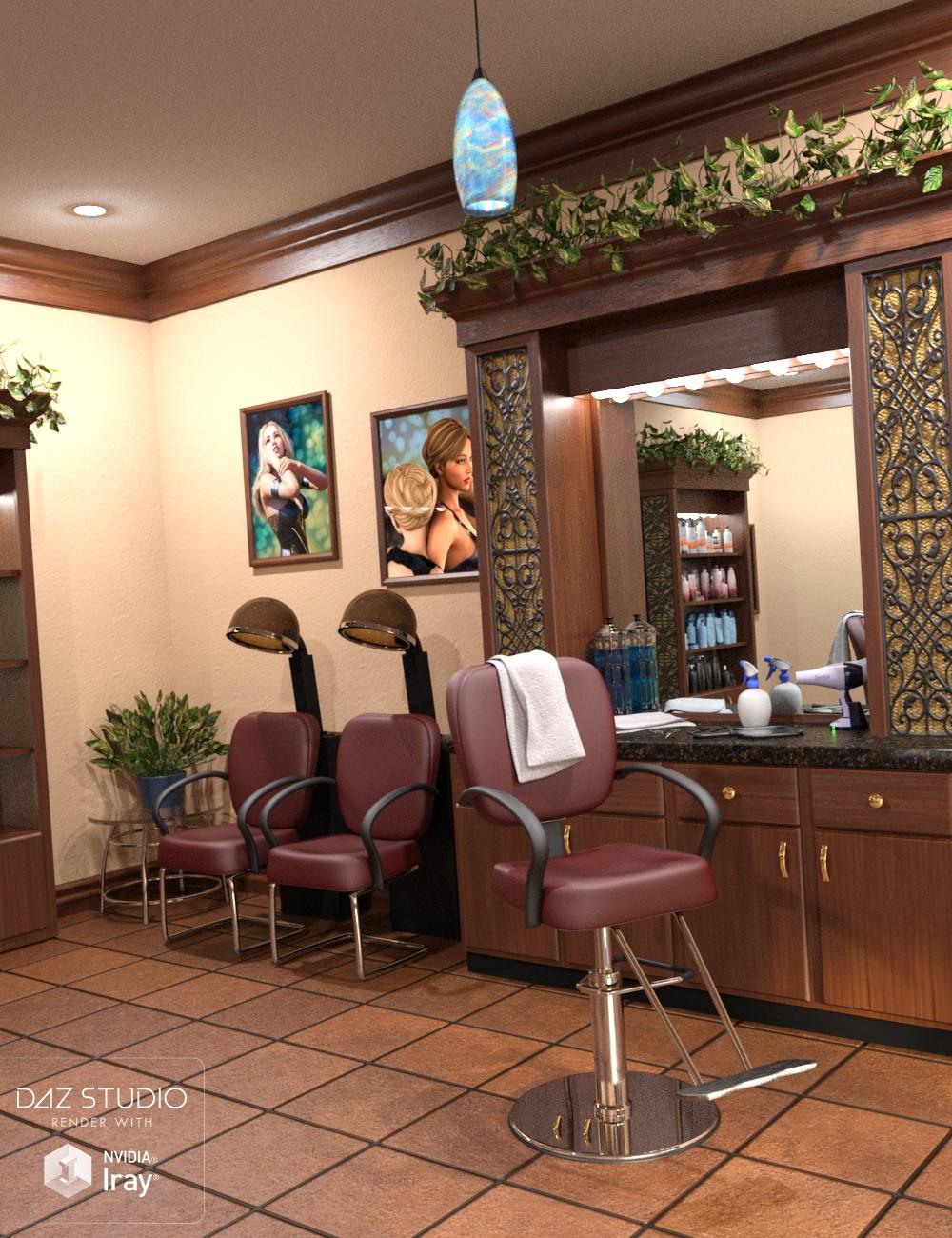 Download daz studio 3 for free daz 3d chez lucille for A daz l salon beauty supply
