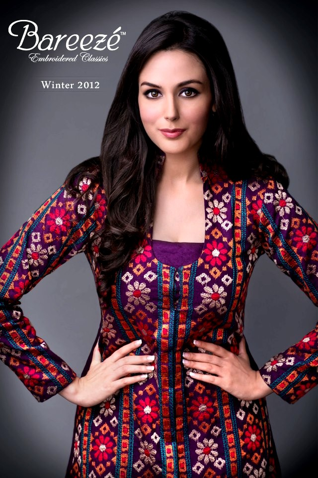 4c521beaf436 Latest Winter Collection 2012-13 For Ladies By Bareeze