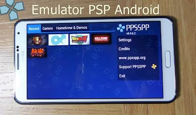 Download 7 Emulator PSP untuk Android versi Terbaru