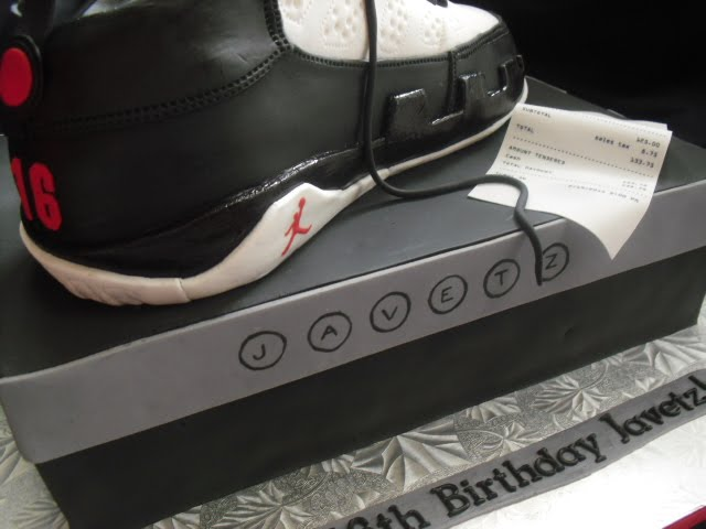 Made Fresh Daily Air Jordan 9 Cake