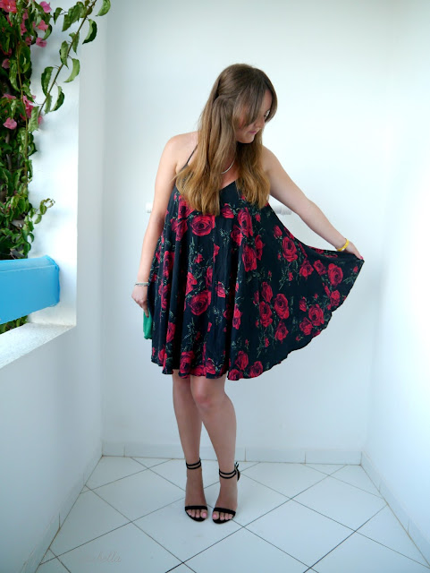 photo of ASOS rose swing dress
