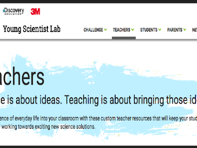 A Great Website for Science Teachers and Students
