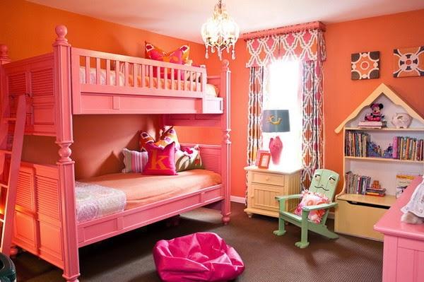 Dormitorios Para Chicas En Color Naranja Ideas Para