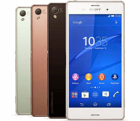 Sony Xperia Z3 Mobile Specifications & Review