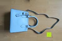 fertig: Veevan Damen Elegante Top-Handle Schultertasche Handtaschen (Blau)