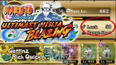 NARUTO: Ultimate Ninja Blazing - Farm with High Luck