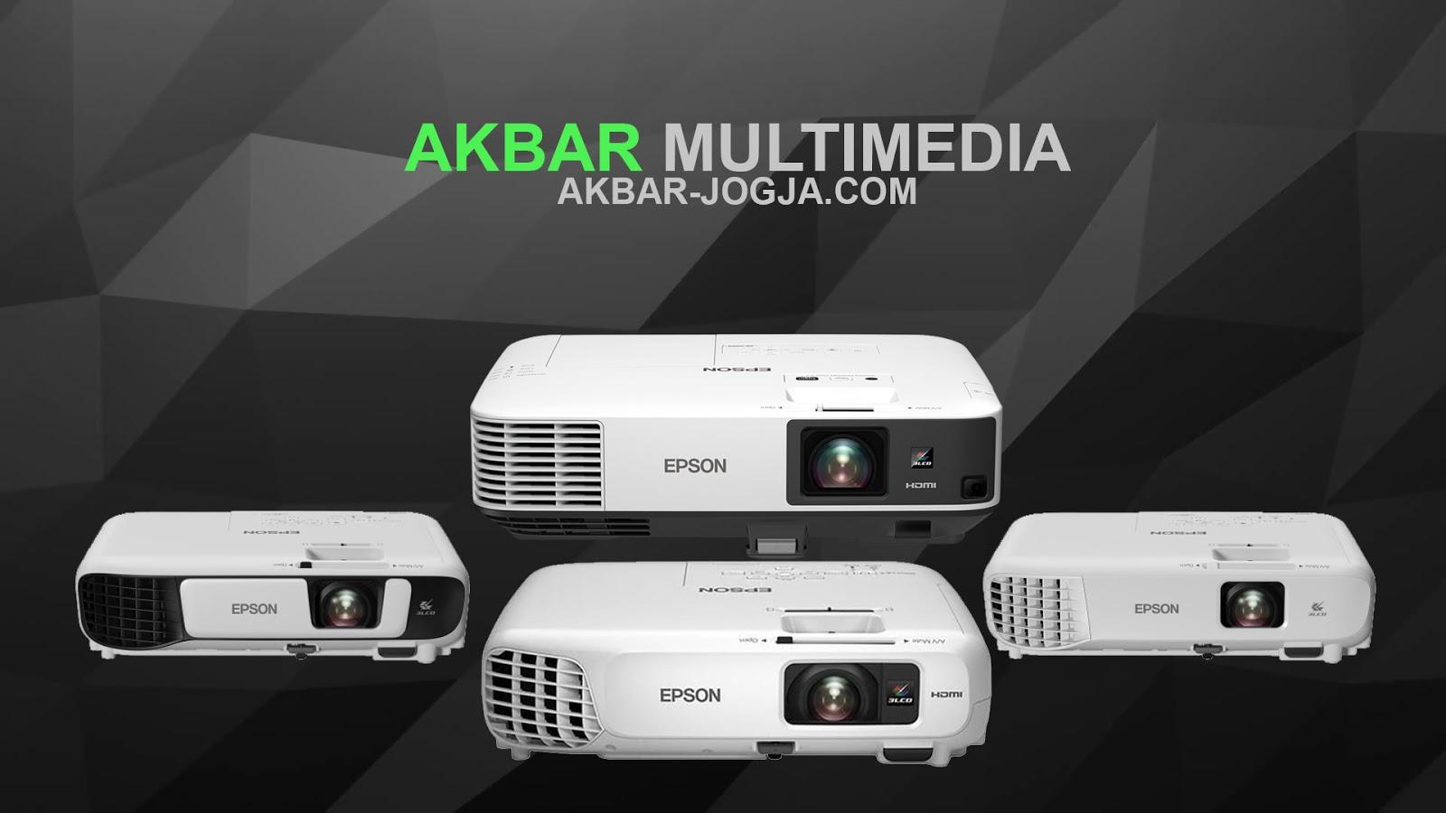 Akbar Multimedia Tempat Sewa proyektor di Jogja