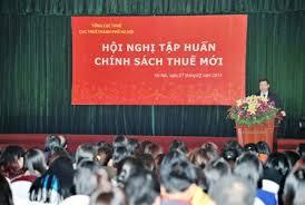 Cục thuế Tp.HCM tập huấn chính sách thuế năm 2019