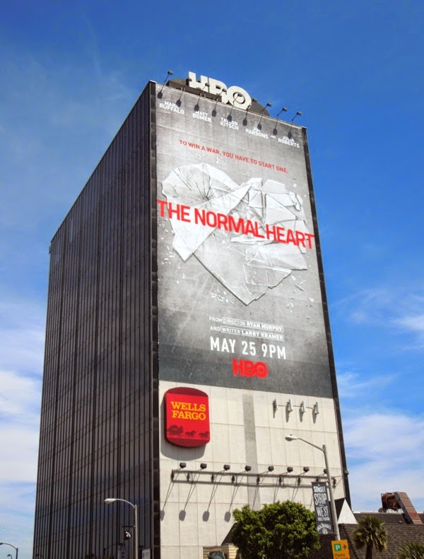 The Normal Heart giant movie billboard