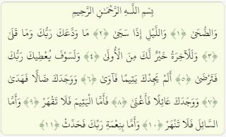 Al Quran Surat Ad-Dhuha