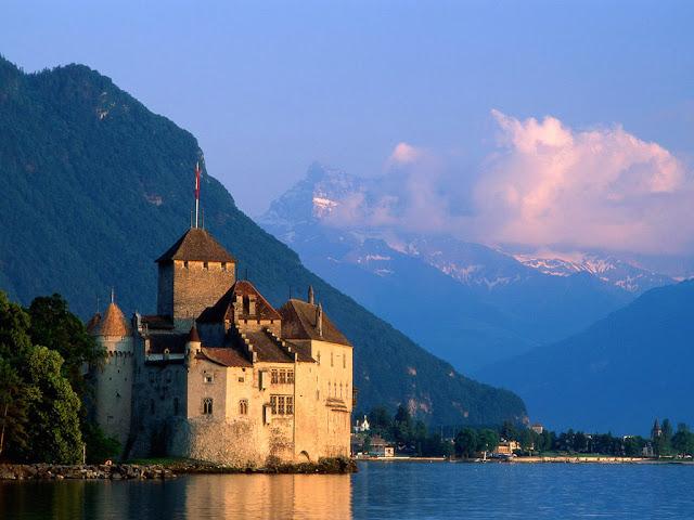 Sorcerer's Castle, Montreux, Switzerland