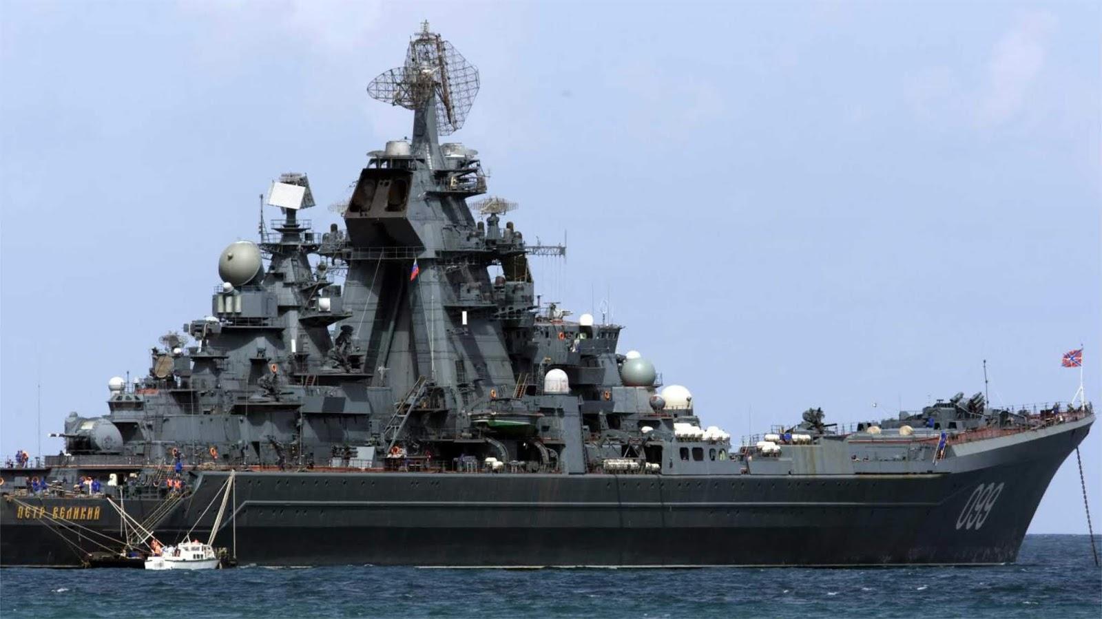 NI menyebut lima kapal perang Rusia paling mematikan