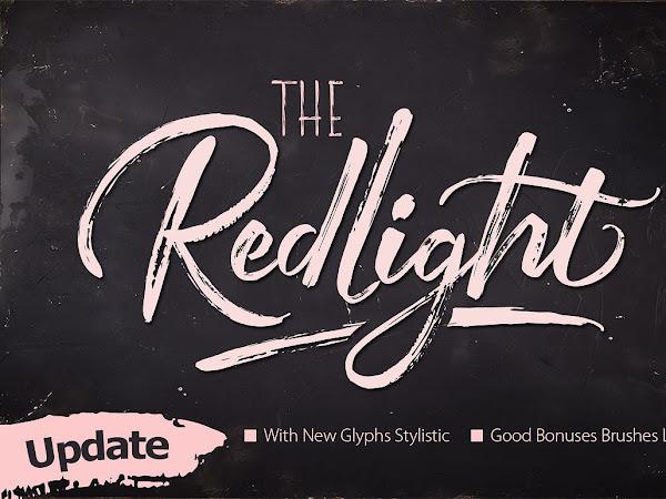 Download Redlight Script - Font Free