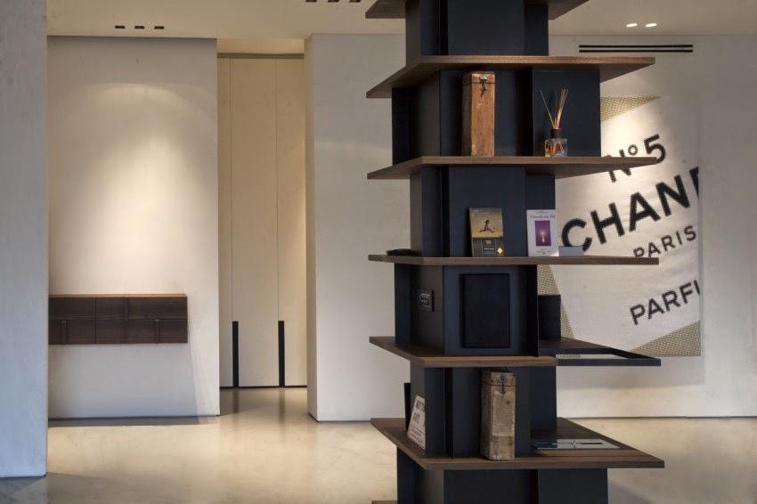 Parole di case pilastri libreria for Arredare libreria