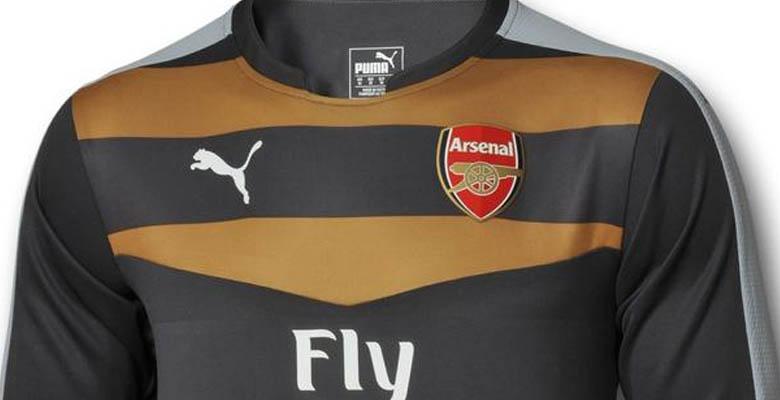 arsenal 15 16 goalkeeper kit 1